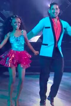 Watch Skai Jackson's Samba Performance on DWTS