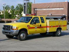 FordF350WildlandLos Angeles Fire DepartmentEmergency Apparatus Fire Truck Photo