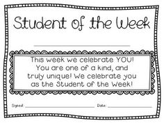 STUDENT OF THE WEEK CERTIFICATES {CHEVRON BRIGHTS} - Student of the Week certificates in Chevron Brights {Aqua, Purple, Pink, Lime Green. Yellow, and Orange} alternating between colors. In addition, there are black and white versions to keep it printer friendly. Size options include full page and half-page.