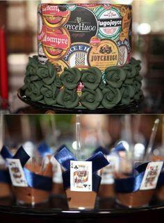 Chá Bar: O que é e como realizar? O chá bar para quem não conhece, é uma variação do chá de panela, onde no lugar de utensílios de cozinha, os convidados trazem como presentes, utensílios para o bar. O chá bar segue os mesmos padrões de um ch...