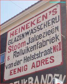 Muurreclames in het Amsterdamse straatbeeld