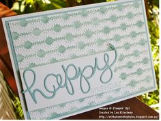 With a bow on top: Using Decorative Masks - Part 1 - Sponging