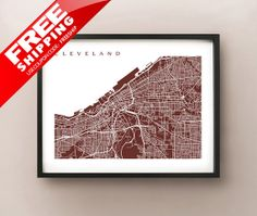 Hey, I found this really awesome Etsy listing at http://www.etsy.com/listing/165943744/cleveland-map-ohio-poster-print-choose