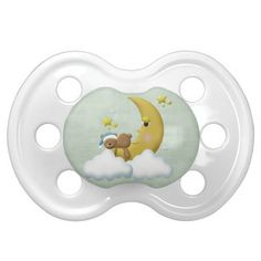 This is a beautiful custom pacifier that is perfect for a baby girl, baby shower gift, new mom gift, and more!