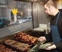 "#portuguese #Restaurant ""principe do calhariz"": grilled portuguese food in a lively atmosphere, #lisbon"