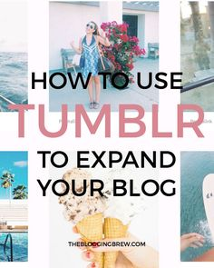 Tumblr is a platform most bloggers haven't touched, including myself. Earlier this year though, I finally created an account and I'm loving how creative I can be with promoting my blog and interacting with followers! So now, I'm sharing what I've learned about expanding my blog with Tumblr. Blogging Tips | Social Media | The Blogging Brew