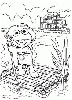 muppet babies coloring pages muppets baby coloring pages