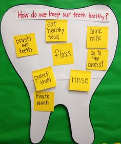 Apples and ABC's: Dental Health Month