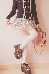 Mixing doll with animal print, Cute Asian Fashion - Lollimobile.com