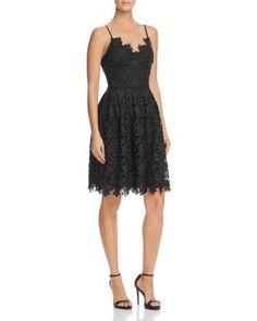 AQUA Lace Cami Dress | bloomingdales.com
