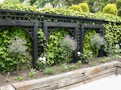 Some of our other gardens including beautiful planting combinations; pots, paving & fencing details; banks & hills & walls; privacy planting