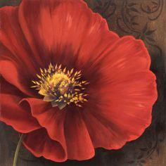 Flores rojas (arte decorativo) Pósters de arte en AllPosters.es