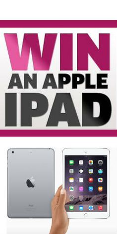 #Win an #Apple #iPad courtesy of #Purdy's #Gadgets