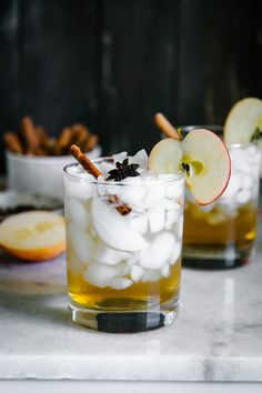 Cinnamon Apple Cider Spritzer The perfect mocktail for fall! Apple Cider Spritzer, a sparkling water and apple cider drink with cinnamon, cloves, and anise. Ready in only 15 minutes! Winter Cocktails, Fall Drinks, Natural Sleep Remedies, Cold Home Remedies, Natural Cures, Herbal Remedies, Holistic Remedies, Natural Healing, Apple Cider Drink