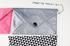 see kate sew: envelope clutch pattern