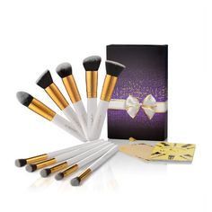 USpicy 10-Piece Makeup Brushes, Professional Cosmetics Make up Brush Set with Gift Box (White) No description http://www.comparestoreprices.co.uk/beauty-products/uspicy-10-piece-makeup-brushes-professional-cosmetics-make-up-brush-set-with-gift-box-white-.asp
