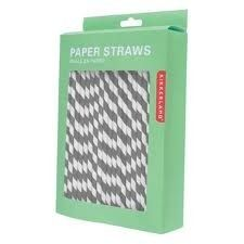 party time straws in grey - lovely! cheapest find yet.