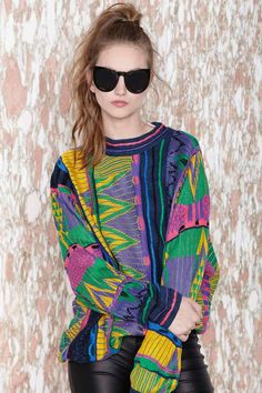 It Was All a Dream Coogi Sweater