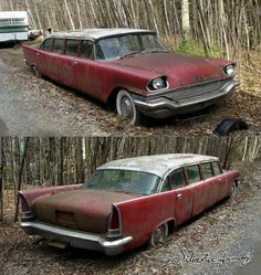1957 Chrysler New Yorker Airport Limo. I would love to restore that, make it into something amazing!