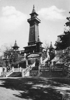 1922 Der alte Hoelzerne Mueggelturm