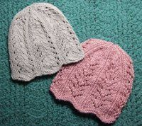 Knitting for charity is one of the best things you can do as an avid knitter.  These Lace Edged Chemo Caps are not only easily to knit, but they make great hats for donations as well.  Whether you decide to make the hat with a scalloped lace edge or