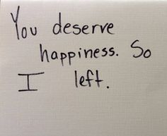 You deserve happiness. So i left. I'm currently addicted to this six word story thing. 6 Word Stories, Six Word Story, The Words, Mood Quotes, Life Quotes, Les Sentiments, Pretty Words, Quote Aesthetic, Writing Prompts