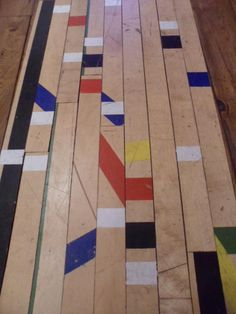 Canadian Maple Sports Hall Flooring From London Borough Facility Excellent Condition