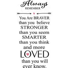 Always Remember Nursery Wall Quote ❤ liked on Polyvore featuring text, words, quotes, backgrounds, phrase and saying