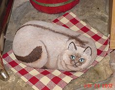 Painted Rock Barn Cats