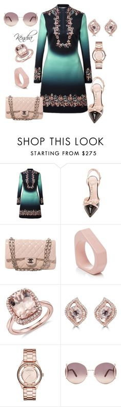 """Moving Forward"" by kmariestyles ❤ liked on Polyvore featuring Clover Canyon, Kate Spade, Chanel, Marni, Effy Jewelry, Marc by Marc Jacobs and Chloé"