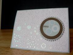 Sparkle card by MaryAnne
