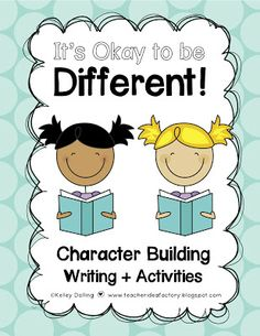 Character Building Activities - a great supplement to your MLK lessons!