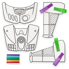 Product Image of Buzz Lightyear Create Your Own Space Ranger Wings Craft Kit # 4 Join the ranks of the Space Rangers and defend the galaxy with this fun art kit that lets you create a Buzz Lightyear-inspired uniform complete with wings. Disfraz Buzz Lightyear, Buzz Lightyear Wings, Buzz Lightyear Costume, Toy Story Buzz Lightyear, Toy Story Halloween Costume, Toy Story Costumes, Toy Story Birthday, Toy Story Party, 3rd Birthday