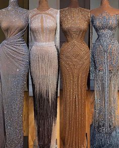 Stunning gowns for when you need to make a statement which is your favorite? Gowns by Stunning Dresses, Beautiful Gowns, Elegant Dresses, Pretty Dresses, Gala Dresses, Couture Dresses, Fashion Dresses, Engagement Dresses, Dream Dress