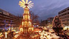 El mercadillo de #Pforzheim, una de las puertas de entrada de la Selva Negra, es mucho más modesto y familiar que el de Stuttgart. se desarrollará del 24 de noviembre al 22 de diciembre. Horario: De lunes a sábado: 10.30-20h; domingos: 11-20h