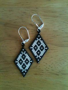 Handmade+Delica+Seed+Bead+Earrings+by+SeedBeadingByRGR+on+Etsy,+$20.00