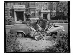 1940'lı Yılların Trafik Kazaları (Resim) | Tarihi Keşfet !