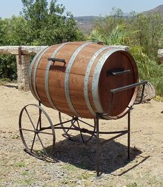 Wine Barrel Project Cooler