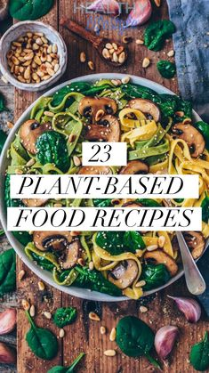 23 soul-fulfilling Plant-based food recipes - Healthy lifestyle - Healthy Eating İdeas For Exercise Plant Based Diet Meals, Plant Based Meal Planning, Plant Based Whole Foods, Plant Based Eating, Plant Based Recipes, Plant Base Diet Recipes, Plant Diet, Plant Based Snacks, Whole Food Recipes