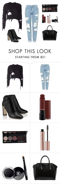 """""""I.d.k"""" by lixmxpxyne ❤ liked on Polyvore featuring beauty, adidas Originals, Topshop, Chanel and Givenchy"""