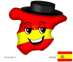 New Spain Plushky Design #kids #toys #global #culture #multicultural #globalkids #Spain