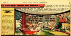 There are so many of these old futurism illustrations I wish I could live in.