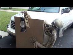 graveyard creep animated halloween prop youtube - Making Halloween Props