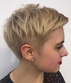 70 Overwhelming Ideas for Short Choppy Haircuts - 70 Overwhelming Ideas for Short Choppy Haircuts Short Undercut Pixie with Choppy Top Haircut For Older Women, Short Hair Cuts For Women, Short Hair Styles, Funky Short Hair, Short Grey Hair, Short Choppy Haircuts, Short Bob Hairstyles, Pixie Hairstyles For Thick Hair Undercut, Thick Haircuts