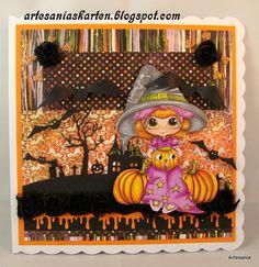 Hallo ihr Lieben,  man kann ja nicht frühzeitig genug anfangen,Ende des Monats ist es wieder soweit-Halloween-etabliert sich ja immer mehr. ...