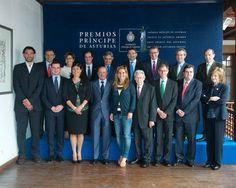 Reunión del jurado del Premio Príncipe de Asturias de los Deportes 2013
