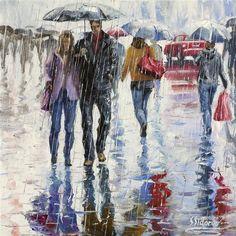 Under One Umbrella II by Stanislav Sidorov. #ugallery