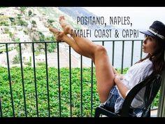 POSITANO, AMALFI COAST, NAPLES & CAPRI || ITALY TRAVEL VLOG PT.1