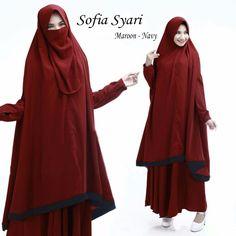 Baju Muslim Gamis Sofia Syari ini di design Modern dan dengan warna serasi serta menggunakan bahan yang nyaman di pakai. di proses dengan bahan yang adem dan meyerap keringat baju ini sangat cocok di bawa saat acara pengajian, arisan atupun dipakai dalam sehari-hari. Detail Produk Baju Muslim...