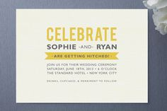 Country Flair Wedding Invitations by j.bartyn | Minted